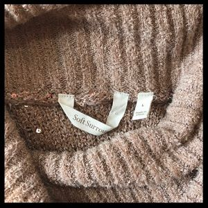 Soft Surroundings Sweaters - Soft Surroundings Claire Cowl Neck Sequin Sweater